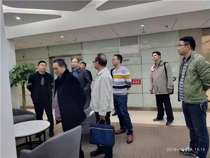 邵阳学院领导来卓景京进行实习督察工作